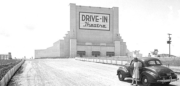 First Drive-In Theater, Camden, New Jersey