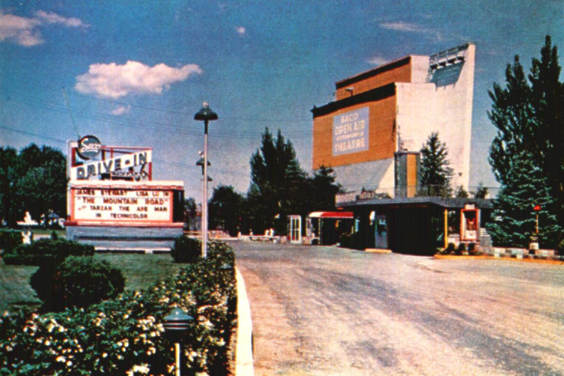 Saco Drive-In 1960